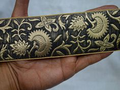 Brocade Gold Jacquard Ribbon        You can purchase from below link or What's App no. is +91-9999684477. We also take wholesale inquiries.
