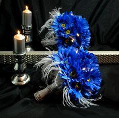 LED light wedding bouquet  Run to LA Nightfall by wandadesign, €90.00