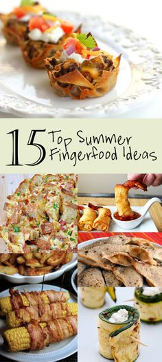 Cold finger foods for all parties cold finger foods cold fingers yummy finger food ideas for summer forumfinder Choice Image
