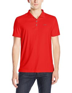 Come check out our new item: Calvin Klein Men ...! It wont last long at this price! So click -> http://www.tribbledistributionss.com/products/calvin-klein-men-s-liquid-cotton-polo-6?utm_campaign=social_autopilot&utm_source=pin&utm_medium=pin before they are gone!!