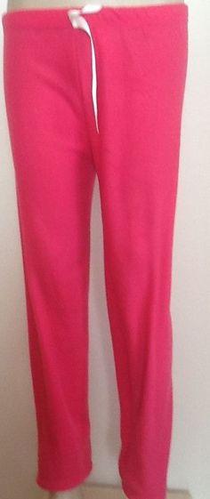 Hochwertige weiche Damen-Fleece-Polar Freizeithose Wellnesshose Pink M-XXL