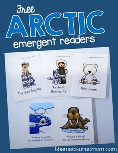 Sight word books set 37: The Arctic - The Measured Mom