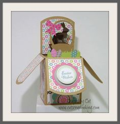 Lollydoodle pop up card framed