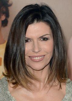 Gorgeous Shoulder-Length Hairstyles: Finola Hughes