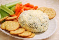 Spinach Artichoke Cheeseball by ItsJoelen, via Flickr