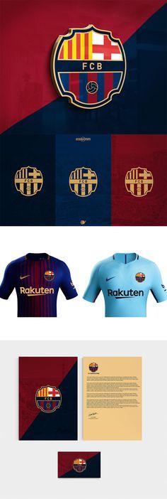 beba6c4fed FC Barcelona Rebranding by Evrim Yilmaz