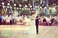 outdoor wedding dance floor   Outdoor dance floor at the Silverado Resort in Napa   Dream Wedding
