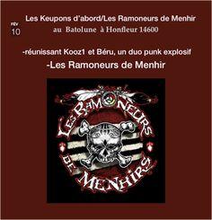 Chez Nada : Les Ramoneur de Menhir  Concert à Honfleur