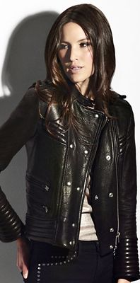 IRO Quilted Leather Biker Jacket