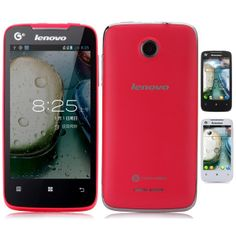 """Lenovo A390T 4.0"""" TFT 800 x 480 Android 4.0 SC8825 1.0GHz Dual-Core 3G Smartphone w/ WiFi Bluetooth (512MB+4GB) - Assorted Color"""