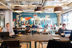 WeWork's coworking spaces are designed for creativity. (Image: WeWork London)