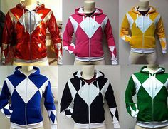 I want the green one so bad!! #powerrangers