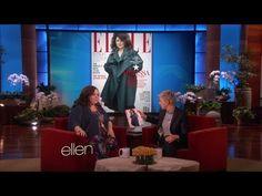 Melissa McCarthy on Her Elle Cover on Ellen Show - http://hagsharlotsheroines.com/?p=55823