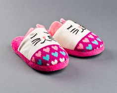 Knitted Clog Cat Slippers | Animal Slippers | BunnySlippers.com