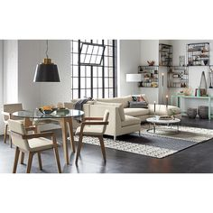 brace dining table in dining tables | CB2