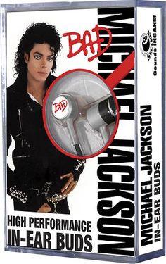 Section8 - Michael Jackson Bad Earbud Headphones  - Best Buy