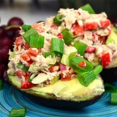 """Avocado and Tuna Tapas 