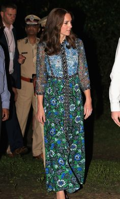 Kate Middleton's tour of India and Bhutan is over - click to see all the gorgeous dresses she wore while she was there.