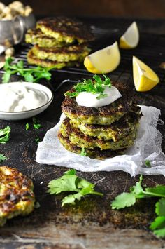 An entire head of broccoli hidden in 6 fritters. An awesome way to eat your greens!!