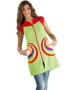 Pichi Arco Iris Scrub Tops, Sweet Girls, Kids And Parenting, Scrubs, Apron, Couture, Summer Dresses, Sewing, Casual
