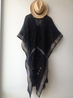Two Ny Black caftan with gold $330
