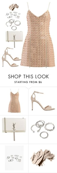 """""""Untitled#4673"""" by fashionnfacts ❤ liked on Polyvore featuring David Koma, Dolce&Gabbana, Yves Saint Laurent, Forever 21, Free People and Bobbi Brown Cosmetics"""