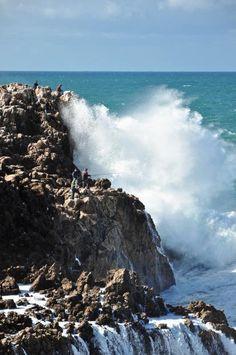 pesca perigosa - costa vicentina - Nuno Garção