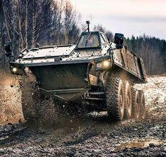 Patria AMV - XP (Prototype Testing)