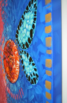 Trippy Abstract Art in Miami for Sale | Doral by Artist Laelanie Larach