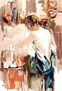 Figurative paintings by Josef Kote #art #painting wow this is beautiful