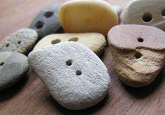 Transformer des galets en boutons