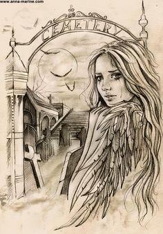 Gates to eternity sketch by Anna-Marine.deviantart.com on @deviantART