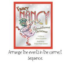 Fancy Nancy's Splendiferous Christmas freebie