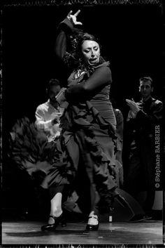"Cristina Serrano in ""Tierra Flamenca"", by Stéphane Barbier, photographer"