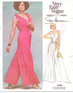 70s Vogue American Designer Pattern 1460 Stan by CloesCloset, $23.00