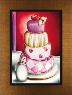 'Icing With Death' by Peter Smith. Available at www.artworx.co.uk
