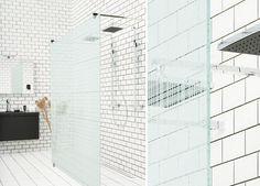 ARC-sarjamme kuviollinen tilanjakajaseinä on kylpyhuoneen katseenvangitsija. #Sanka #ARC