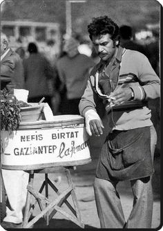 Street vendor, İstanbul, by Unknown Photographer Street Vendor, Shopping Street, Old Pictures, Old Photos, Ottoman, Street Culture, Working People, Yesterday And Today, Istanbul Turkey