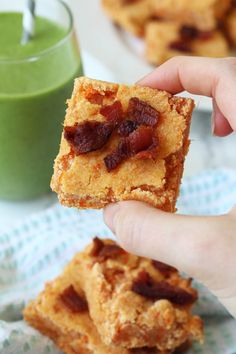 Paleo Sweet Potato Bacon Breakfast Bars (Egg Free & AIP) - Unbound Wellness