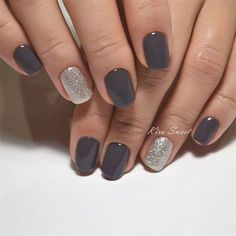 Gel Nail Art Designs & Ideas 2017 – The Best Nail Designs – Nail Polish Colors & Trends Shellac Nail Designs, Gel Nail Colors, Nails Design, Color Nails, Hair Color, Salon Design, Nagel Stamping, Manicure Y Pedicure, Pedicure Ideas