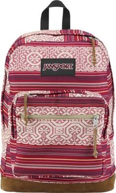 JanSport Right Pack Laptop Backpack Red Tape Shanghai Sunset - World Collection - via http://eBags.com! cheap.thegoodbags.com  MK ??? Website For Discount ⌒? Michael Kors ?⌒Handbags!  Super Cute! Check It Out!