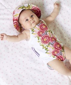 #floral #baby #flowers #fashion #kids #trend
