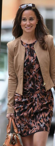 pippa middleton...gorgeous! if this is a dark autumn look it suits her perfectly.