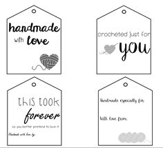 Free Printable Gift Tags, Printable Labels, Free Printables, Tween Girl Gifts, Handmade Gift Tags, Sewing Patterns For Kids, Jute, Card Stock, Gift Ideas