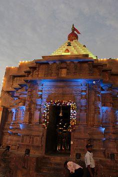 Advocate Ashish Shelar Pandal Replica of Mahalaxmi Temple Kolhapur