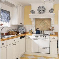 Blue And Yellow Kitchen blue and yellow kitchen | kitchen redo | pinterest | kitchens