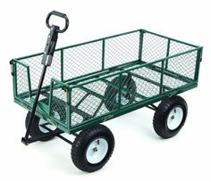 Quick and Easy Gift Ideas from the USA  Farm & Ranch MH2121D Heavy-Duty Steel Utility Cart with Removable Folding Sides and 13-Inch Pneumati http://welikedthis.com/farm-ranch-mh2121d-heavy-duty-steel-utility-cart-with-removable-folding-sides-and-13-inch-pneumati #gifts #giftideas #welikedthisusa