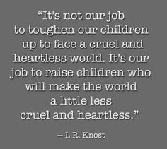 It is our  job.
