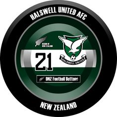 DNZ Football Buttons: Halswell United AFC
