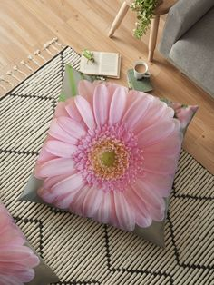 I received a bunch of gerberas and pink carnations from my husband. Never miss an opportunity to be creative, when given a bunch of flowers.This pale pink gerbera has a light touch of yellow in its center. Throw Pillows Bed, Bed Throws, Floor Pillows, Decorative Throw Pillows, Pink Gerbera, Pink Carnations, Cushion Covers, Duvet Covers, Floral Cushions
